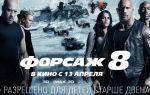 Форсаж 8 (фильм 2017): актеры и роли