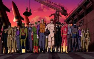 Лига справедливости: мультфильмы по порядку (список)