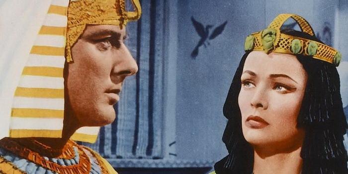 Кадр из очень старого кино - Египтянин (1954)
