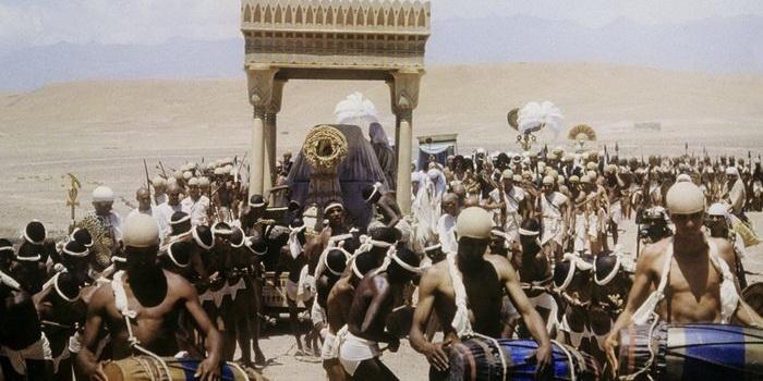 Фото из сериала Седьмой свиток фараона