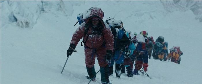 Сцена из Эвереста 2015 года