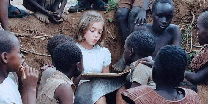 Кадр из фильма Нигде в Африке