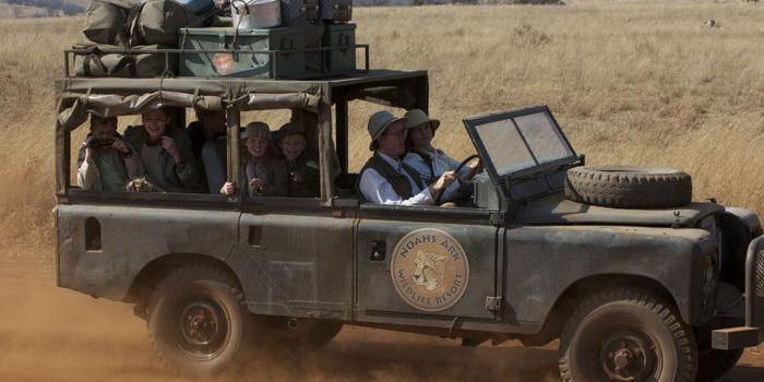 Главные персонажи из фильма Мои африканские приключения (2013)