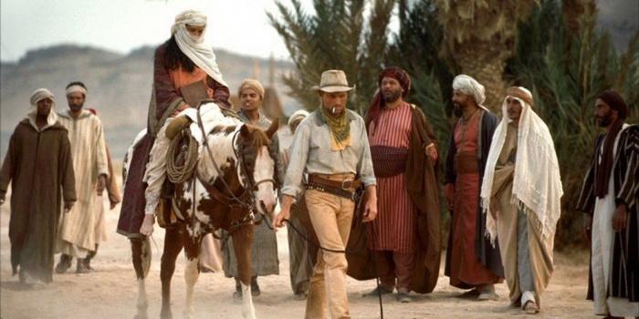 Кадр из известного фильма Идальго: Погоня в пустыне