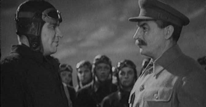 """Фото из советского фильма """"Валерий Чкалов"""" (1941)"""