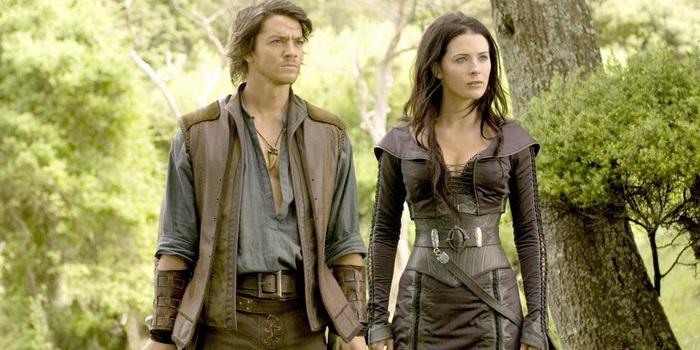 Главные герои из сериала Легенда об Искателе (2008)