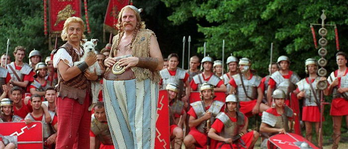 Главные герои из фильма Астерикс и Обеликс против Цезаря