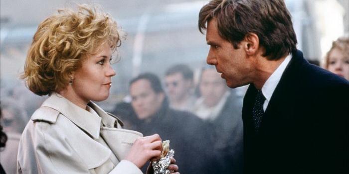 Кадр из старого фильма Деловая женщина (1988)