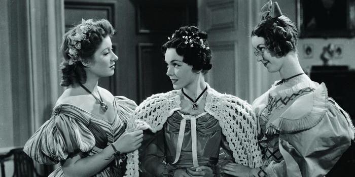 Кадр из старого фильма Гордость и предубеждение (1940)