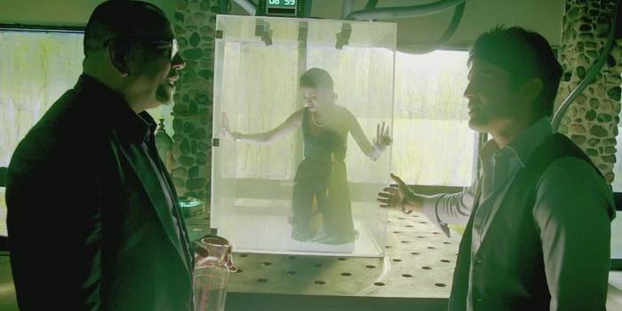 Сцена из кинофильма Столик номер 21 (2013)