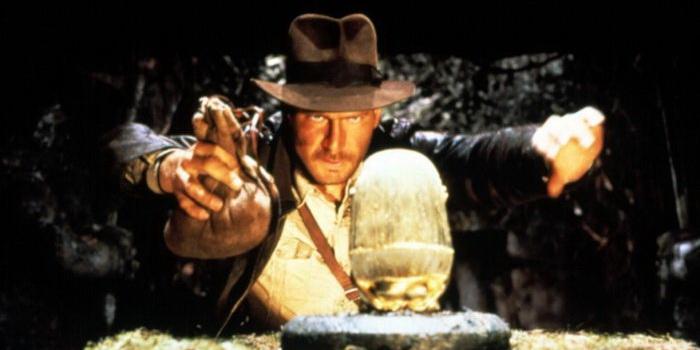 Сцена из фильма Индиана Джонс: В поисках утраченного ковчега 1981 года