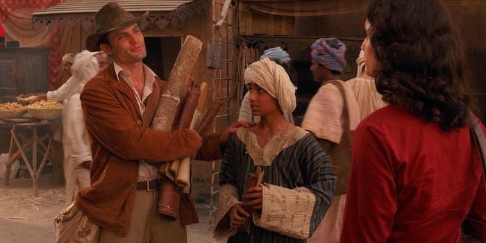 Кадр из фильмов ужасов Тутанхамон: Проклятие гробницы (2006)