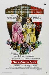 Афиша к фильму Мария – королева Шотландии (1971)