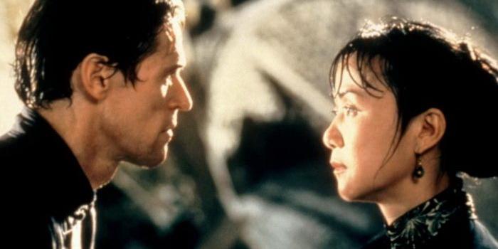 Персонажи из китайского фильма Участь женщины (2001)