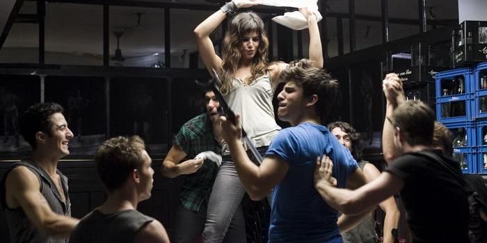 Актеры из испанского телефильма Три метра над уровнем неба: Я тебя хочу 2012 года