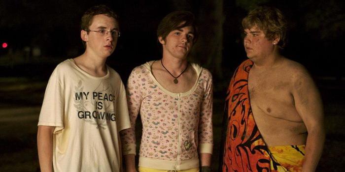 Главные герои из фильма Колледж (2008)