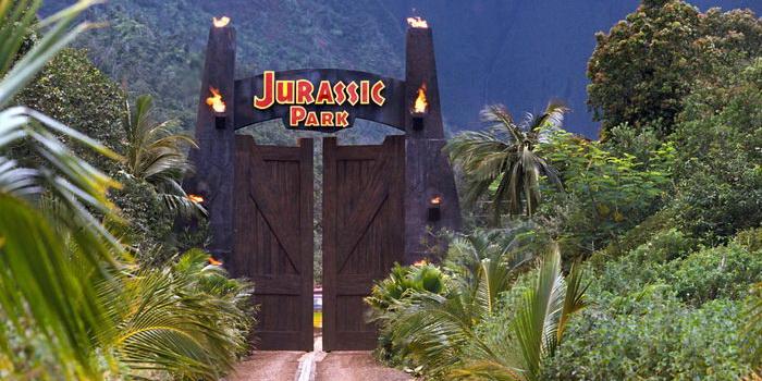 Кадр из старого фильма Парк Юрского периода (1993)