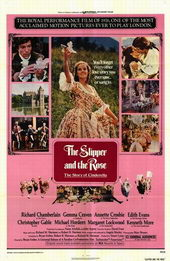 Постер к старому фильму Туфелька и роза, 1976 года