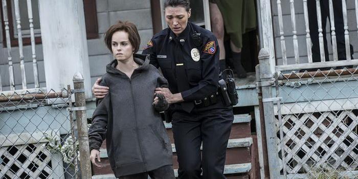Кадр из нового фильма на реальных событиях Кливлендские пленницы (2015)