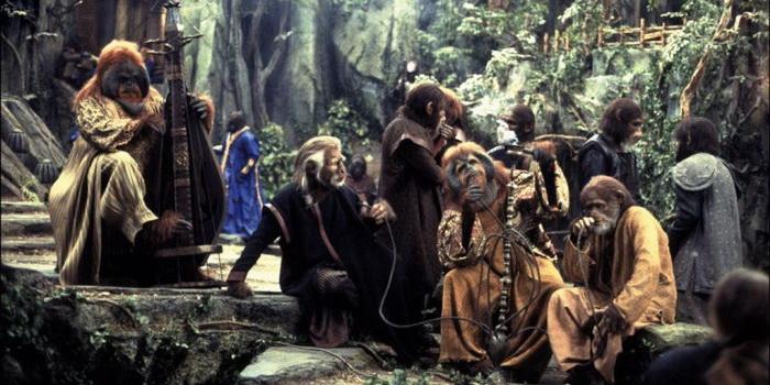 Ремейк Планета обезьян(2001)