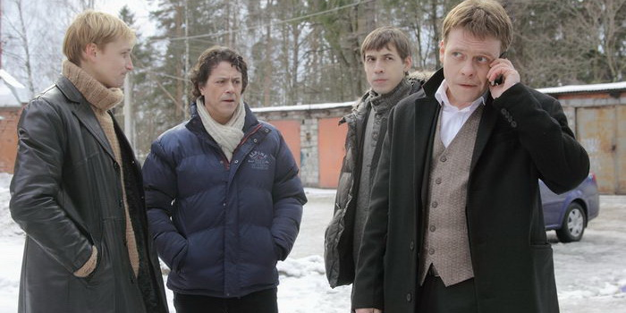 Кадр из русского сериала Гончие (2007)