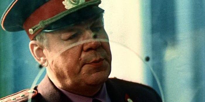 Персонаж из советского фильма Гонки по вертикали (1983)