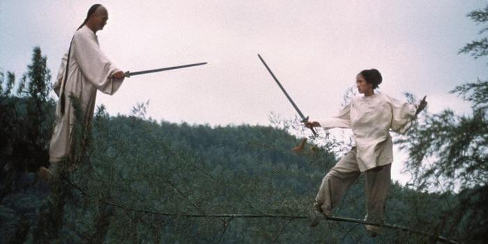 Кадр из старого фильма Крадущийся тигр, затаившийся дракон, 2000 года