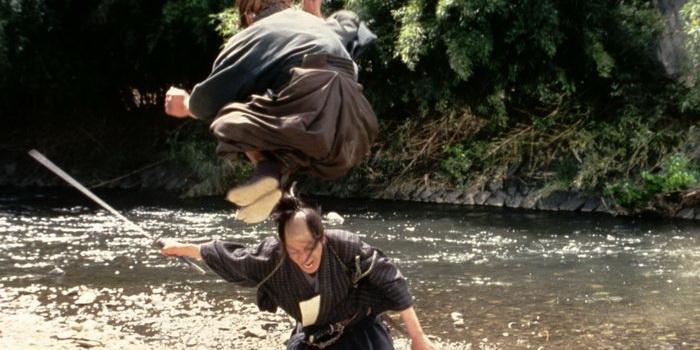 Сцена из фильма Сумрачный самурай (2002)