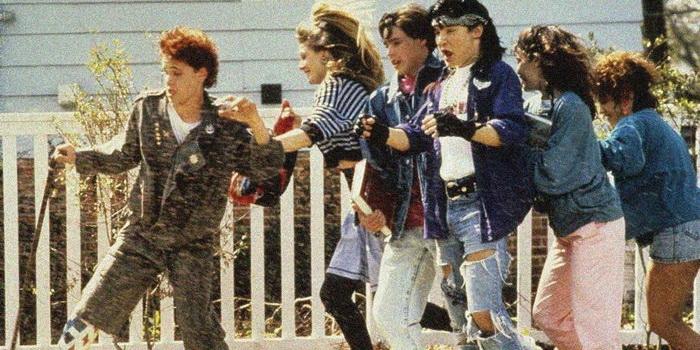 Сцена из комедии Задумай маленькую мечту (1989)
