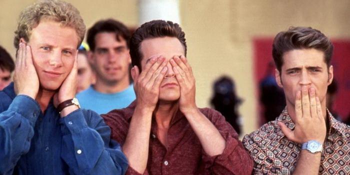 Герои из старого сериала Беверли-Хиллз 90210 (1990)