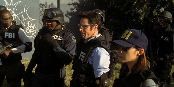 Сцена из детектива Числа (2005)