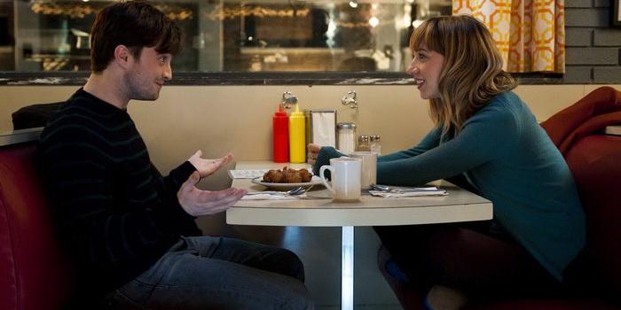 Сцена в кафе из фильма Дружба и никакого секса? (2014)