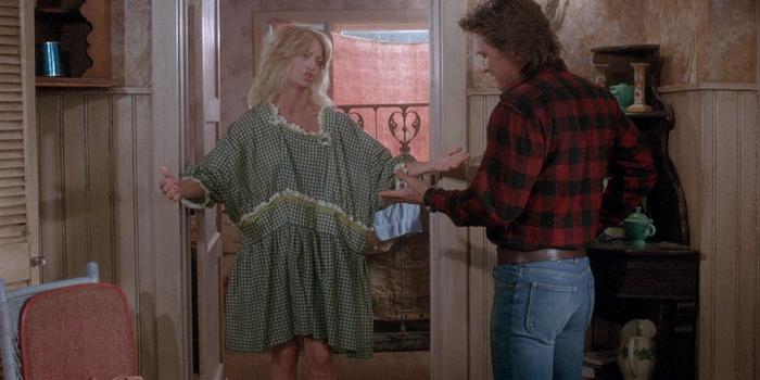 Кадр из старого фильма За бортом (1987)