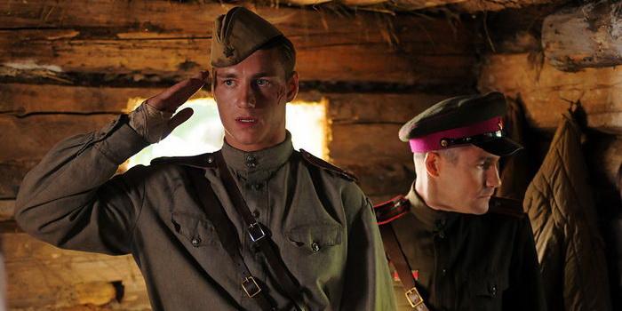 Герои из сериала Три дня лейтенанта Кравцова 2011 года