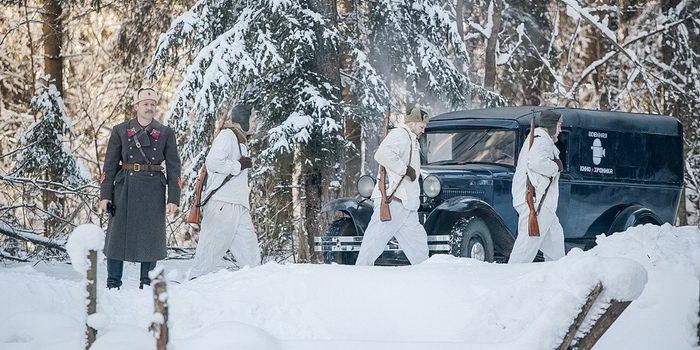 Постер к сериалу Снег и пепел