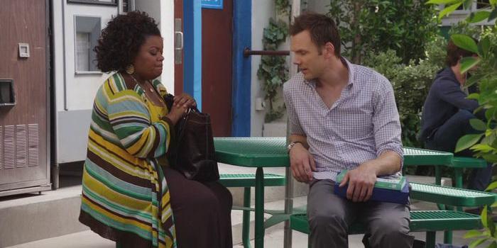 Сцена из комедийного сериала Сообщество (2009)