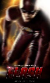 Плакат к сериалу Флэш (2014)