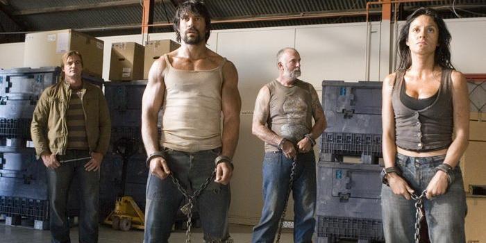 сцена из фильма Приговоренные (2007)