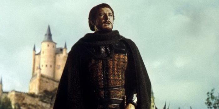 Картинка из старого фильма Камелот (1967)