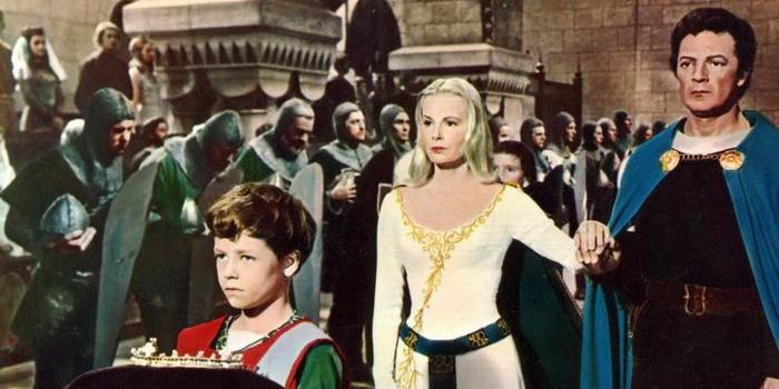 Постер из кинофильма Ланселот и Гвиневера (1963)