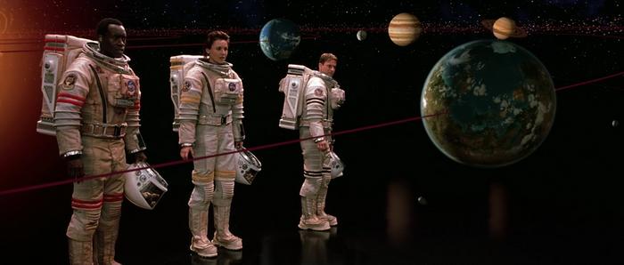 Сцена из фильма Миссия на Марс(2000)