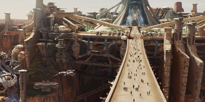 Город из фильма Джон Картер(2012)
