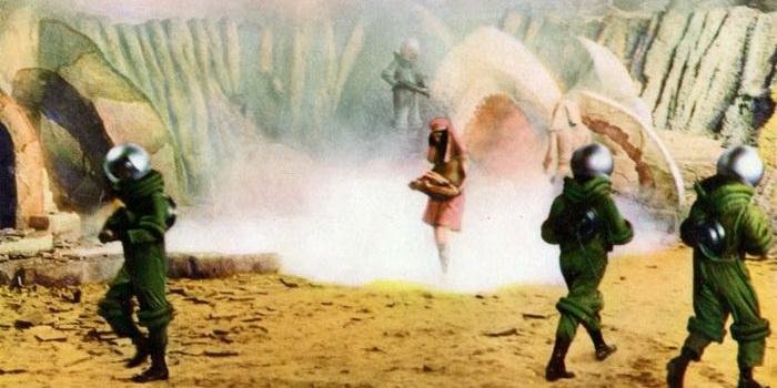 Фото из фильма Робинзон Крузо на Марсе(1964)