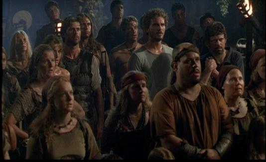 Кадр из фантастического сериала Амазония (1999)