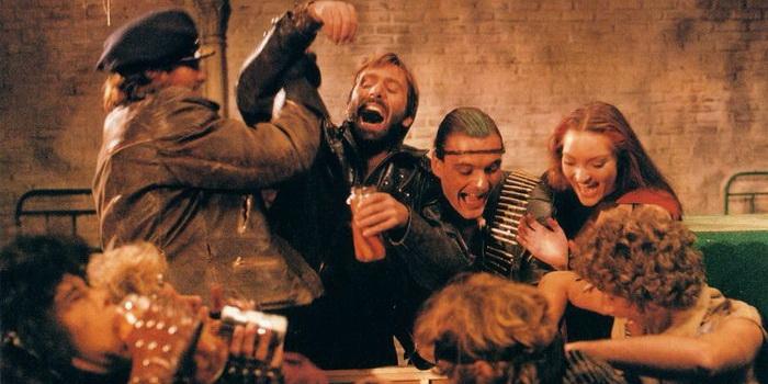 Кадр из фильма ужасов Крысы: Ночь ужаса (1984)
