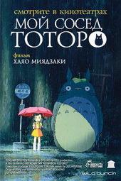 Фильм аниме Мой сосед Тоторо (1988)