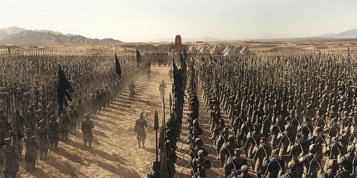 Сцена из фильма Мумия: Гробница Императора Драконов (2008)