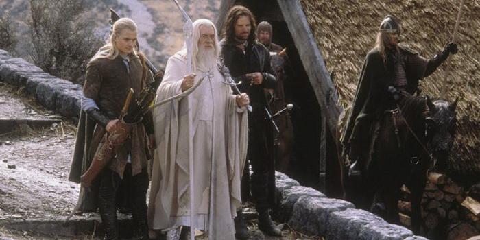 Кадр из фильма Властелин колец: Возвращение короля (2003)