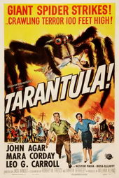 Постер к ужасам Тарантул (1955)