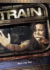 Плакат из фильма ужасов Поезд (2008)